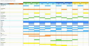 Gantt Project Planner Template Excel Download Management In Free To