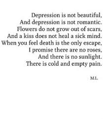Self Harm Quotes Stunning Depression Is Living In A Body That Fights To Survive With A Mind