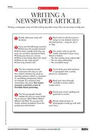 Write Your Own Newspaper Article Template 535 Best Article Writing Images Article Writing Writing