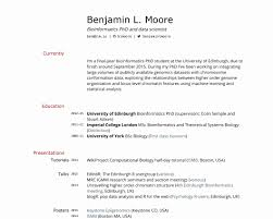 Bioinformatics Resume Sample 100 Unique Resume format for Phd Candidate Resume Writing Tips 31