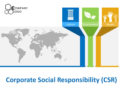 Ppt Business Template Corporate Social Responsibility Csr Powerpoint Templates