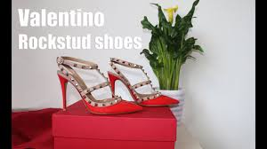 <b>Туфли Valentino</b> Rockstud Распаковка, обзор, примерка - YouTube
