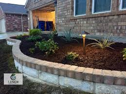 flower bed lighting. 12 photos for lenox landscaping u0026 irrigation flower bed lighting a