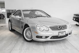 Another improvement on the previous sl generation can be seen in the unique hightech equipment fitted as standard on the new sl 500 and sl 55 amg. 2003 Mercedes Benz Sl Class Sl 55 Amg Stock P039826a For Sale Near Vienna Va Va Mercedes Benz Dealer