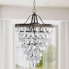 antique brass chandelier best of conical 4 light antique brass crystal chandelier ceiling fixture