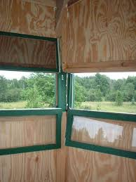 HousingPlexiglass Deer Blind Windows