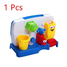 fullsize of gallant pc plastic baby bath toy bathtub spray faucet play toy plastic multicolorwash toys