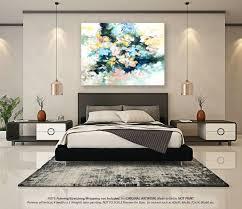 canvas bedroom wall art acrylic