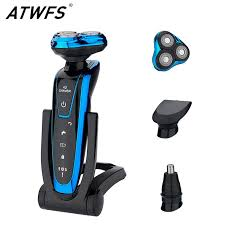 ATWFS <b>Men Washable Rechargeable Electric</b> 3 IN 1 Shaver Electric ...