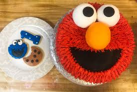 Elmo Cake I Did For A Sesame Street Birthday Wish I Would Have
