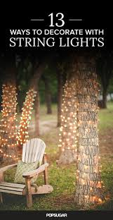 How To Decorate A Tree Trunk With Christmas Lights Pin On Entertaining Outdoor Parties