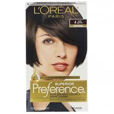 A hair color shade is a color and numbering system that is used by hair colorists to determine a person's natural level of neutral color. L Oreal 4 Natural Dark Brown