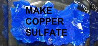 how to make copper sulfate from copper and sulfuric acid science experiments wonderhowto