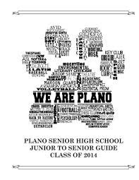 Plano Gpa Chart Plano Senior High School Junior To K12 Plano Isd