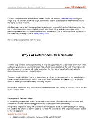 Listing References On Resume Formal Letter Sample Resume Format Best Template Character Inside