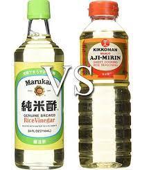 rice vinegar vs mirin taste the