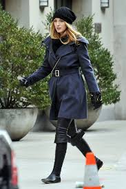 blake lively shows us how to look cute in the winter how to look cute in winter zimbio