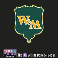 best william and mary images pride mary and  william and mary color shock seal decal