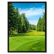 vancouver canada golf course photo canvas print pictures frames home d cor wall art gifts on golf wall art canada with vancouver canada golf course photo wall art home d cor frame