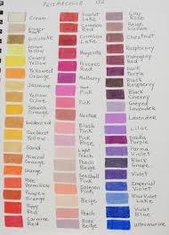 Faber Castell Classic Colored Pencils Color Chart Prismacolor Color Chart 48 Www Bedowntowndaytona Com