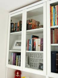 billy bookcase with doors how to make the almost extinct glass doors ers billy bookcase glass