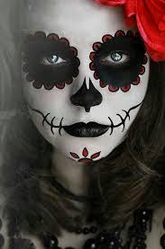 face paint of sugar skull