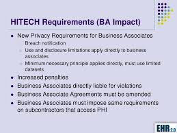 Business Associate Assessment, Agreement And Requirements
