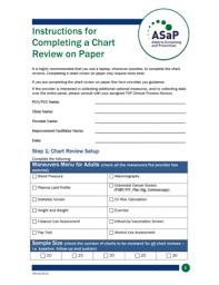 Fillable Online Topalbertadoctors Asap Chart Review Form