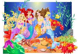 princess undersea party
