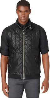 Calvin Klein Faux Leather Quilted Vest | Where to buy & how to wear & ... Calvin Klein Faux Leather Quilted Vest Adamdwight.com