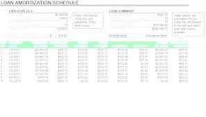 Amortization Schedule Excel Formula Simple Interest Loan Table Home