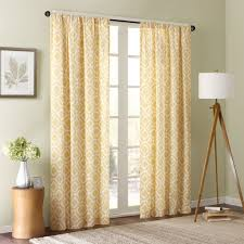 Amazon.com: Delray Diamond Window Curtain Yellow 84