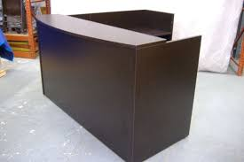 charming second hand reception desk used office furniture virginia dc maryland refurbished office