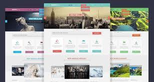 Psd Website Templates Mesmerizing Design Website Template Using Photoshop 28 Free Web Design Photoshop