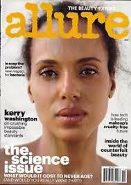 image is loading allure magazine kerry washington free makeup counterfeit