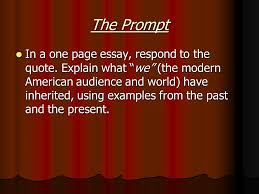 "the crucible ""candle essay"" ppt video online  the prompt"