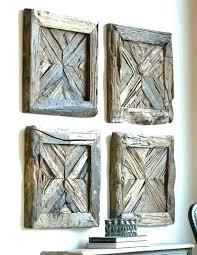 rustic wood wall decorations hangings metal art sculptures modern decor kids room agreeable bathroom