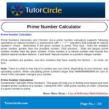 Prime Chart To 1000 Prime Number Calculator By Yatendra Parashar Issuu