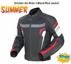 air ride red side jacket