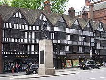 the timber framed staple inn in holborn london