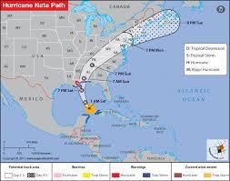 Hurricane Tracking Chart 2017 Hurricane Nate Path Map Updates Hurricane Nate Track Map 2017