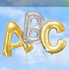 balloons party letters