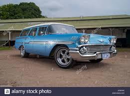 1958 Chevrolet Brookwood station wagon classic American car Stock ...