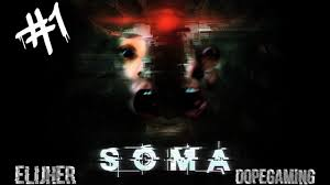 soma walkthrough gameplay part 1 this game is not scary ps4 pro plus free games