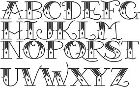 Fonts For Tattoos Myfonts Tattoo Fonts