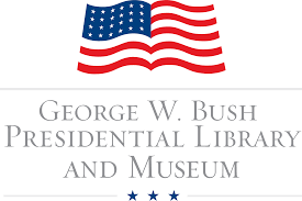 file official logo of the george w bush presidential library svg  open