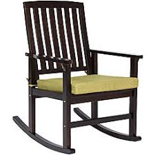 wooden rocking chair with cushion. Interesting Rocking Best Choice Products Indoor Outdoor Home Wooden Patio Rocking Chair Porch  Rocker Set Glider W Inside With Cushion H