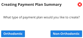 Creating An Orthodontic Payment Plan Summary Knowledge Base