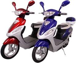 motor scooters gas or electric