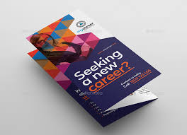 Recruitment Brochure Template Recruitment Agency Tri Fold Brochure Template